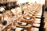 Wedding Reception Table Setting at Big Daddy's Antiques