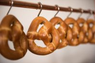 Pretzels and Wedding Catering Ideas at the Hudson Loft