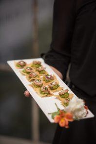 Appetizers at Hudson Loft