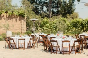 Catalina View Gardens Outdoor Wedding Reception