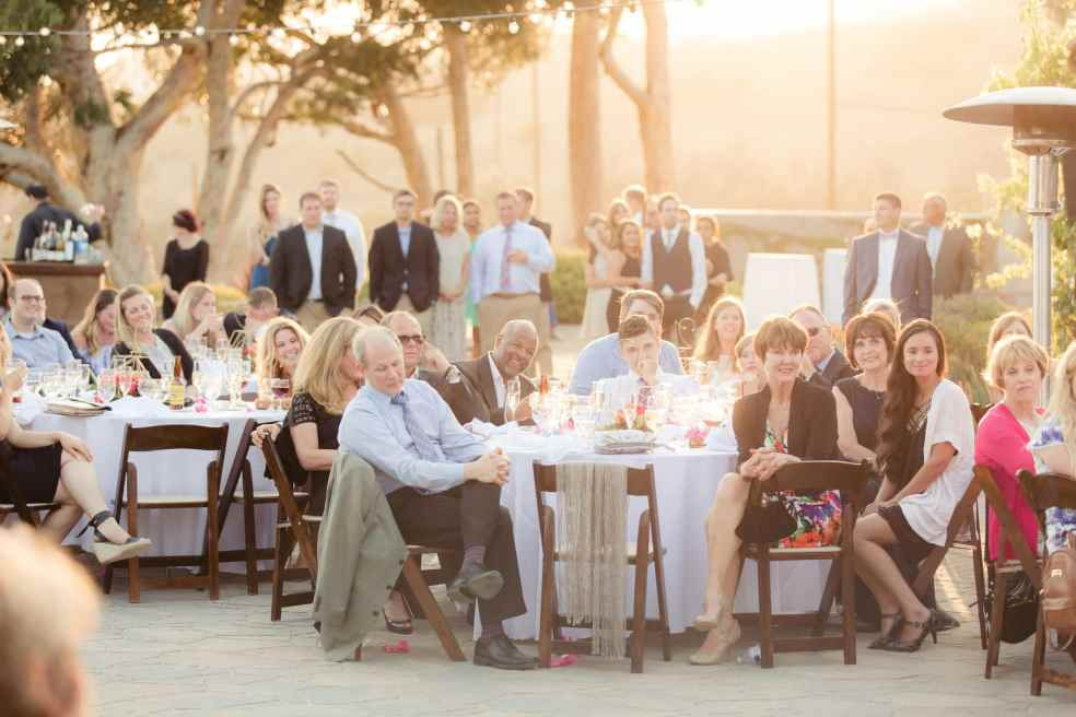 Catalina View Gardens Wedding Reception | Catered by Made By Meg