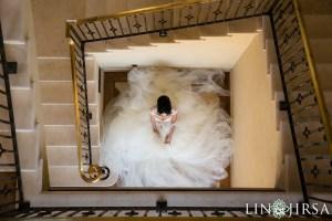 Bride at Malibu Rocky Oaks