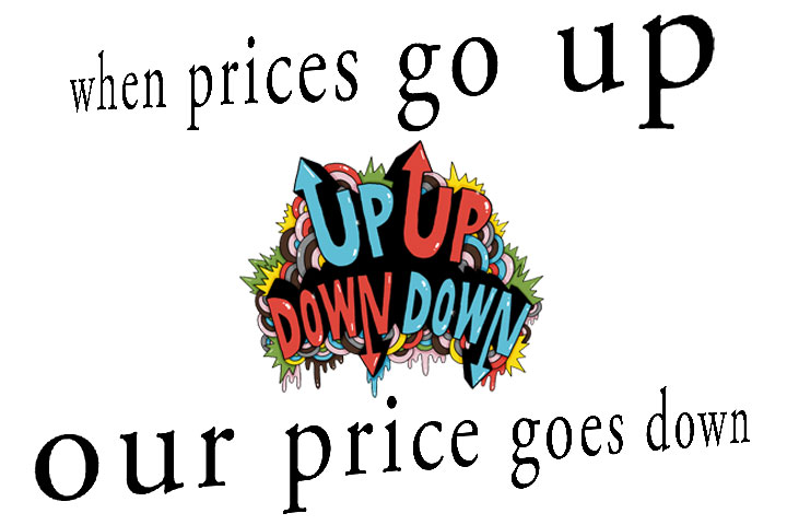 We Price Down Our Rooms