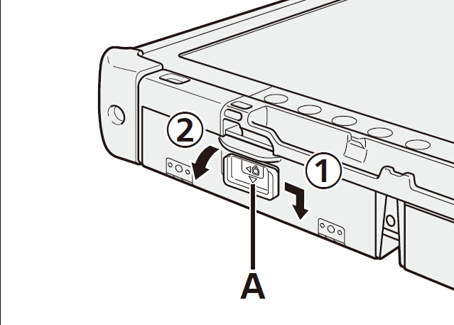 How to insert battery pack to C5 unit