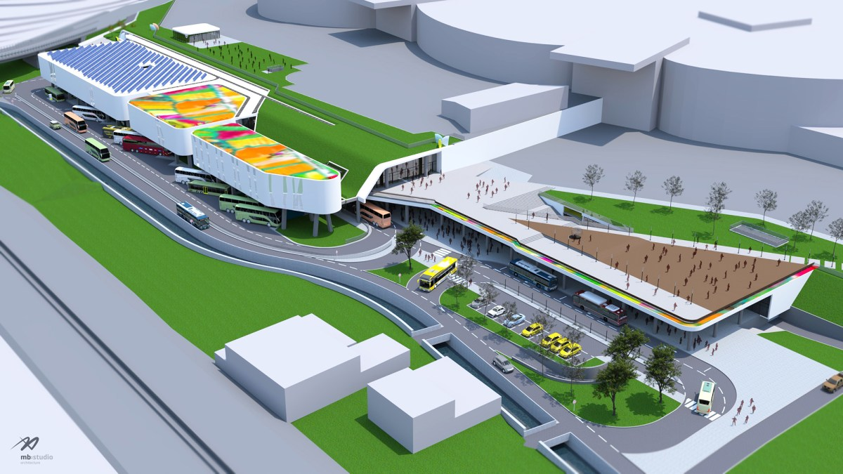 NATIONAL TERRITORY COUNCIL  APPROVES TIRANA EAST BUS TERMINAL BUILDING PERMIT
