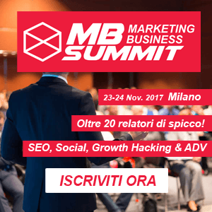 23/24	NOVEMBRE MILANO - MB SUMMIT