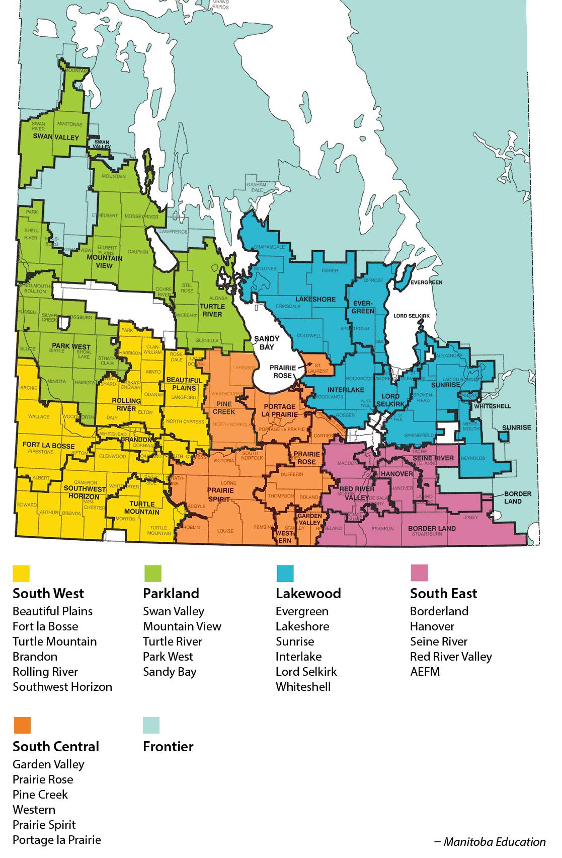 Division Comparisons – The Manitoba Teachers' Society