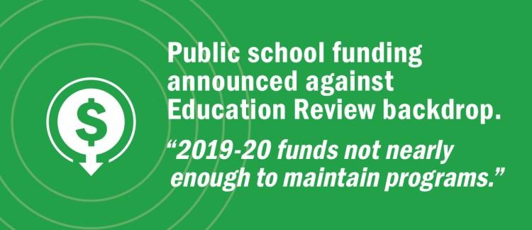 2019/20 Funding Announcement – The Manitoba Teachers' Society