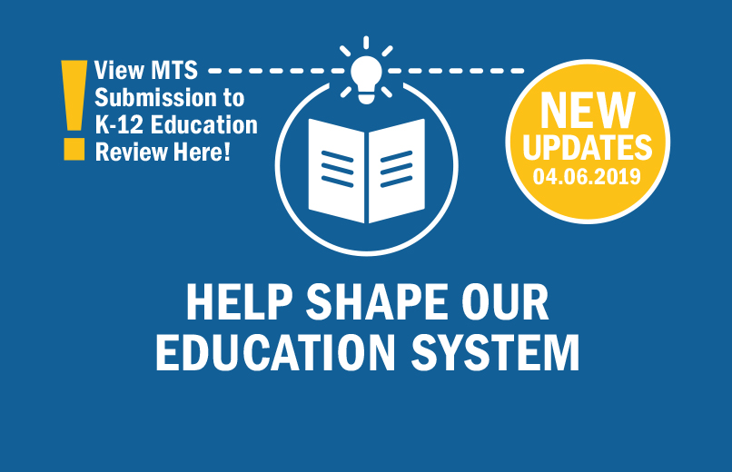 3 Education Issues That Will Have To Be Reconciled After >> K 12 Education Review The Manitoba Teachers Society