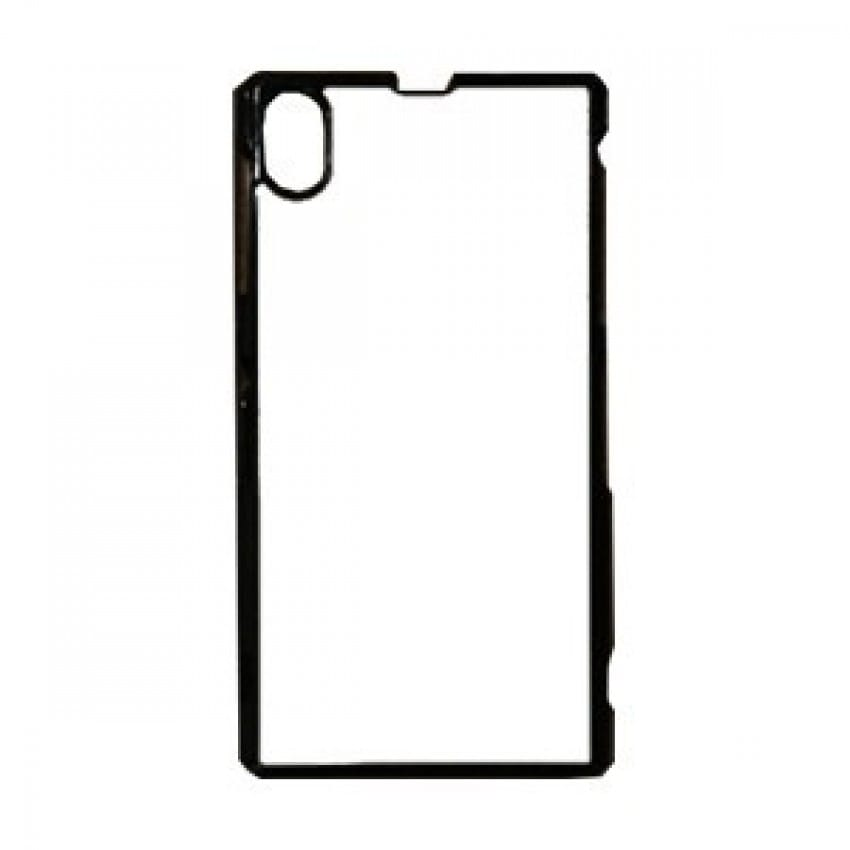 Coque smartphone 2D Sony Xperia Z1 rigide noire avec