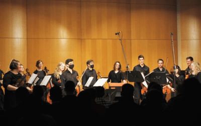 Musicians Perform with Symphony Members