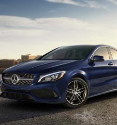 cla 4 door coupe [ 2400 x 900 Pixel ]