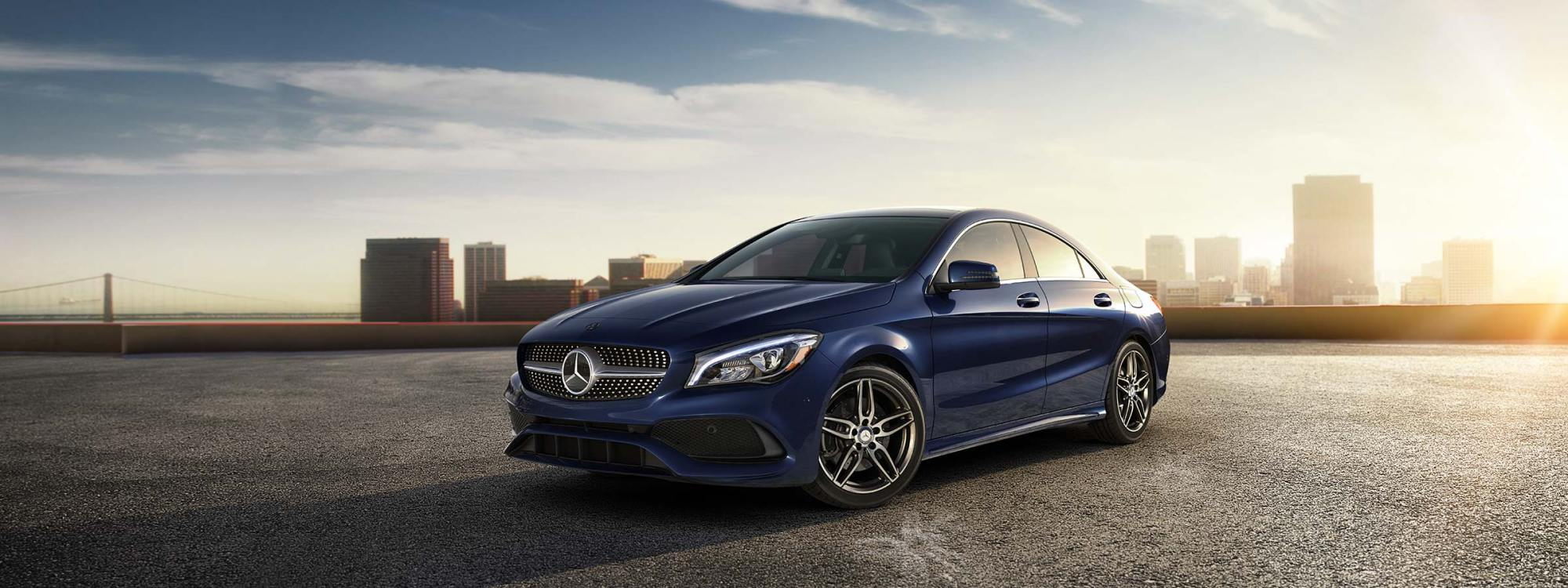 hight resolution of cla 4 door coupe