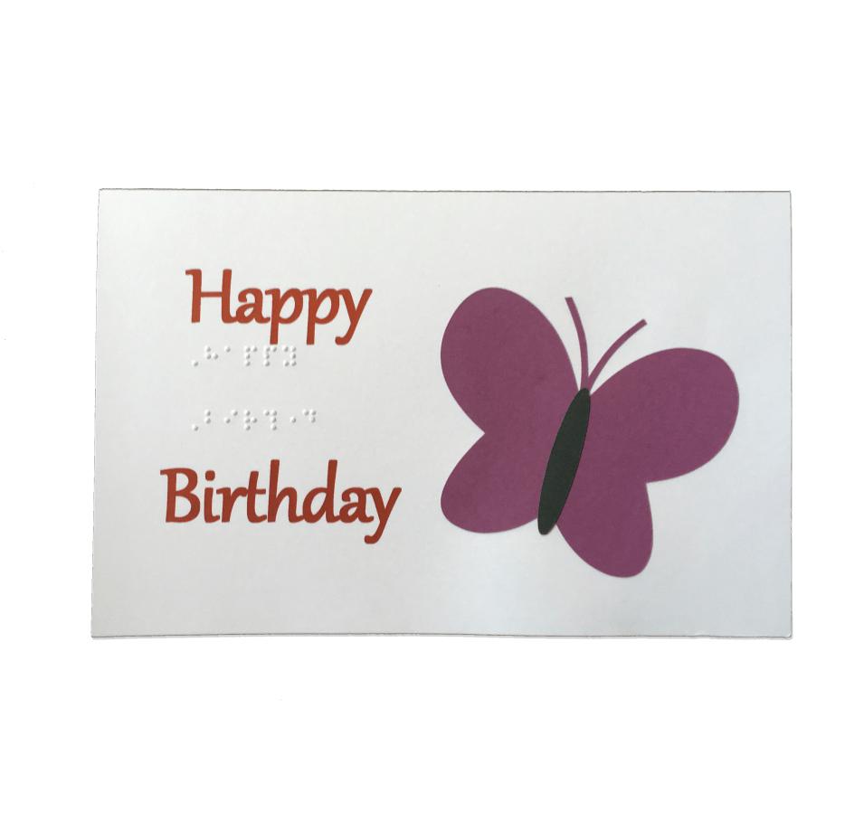 Birthday Card Butterfly