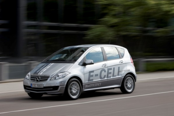 Mercedes Benz A Class E Cell 2 edited 597x398 The new A Class to feature E CELL technology