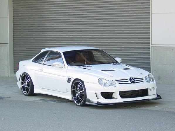 lexus sc300 tries to become mercedes sl55 amg 25398 1 597x447 Lexus SC300 transforms into Mercedes Benz SL