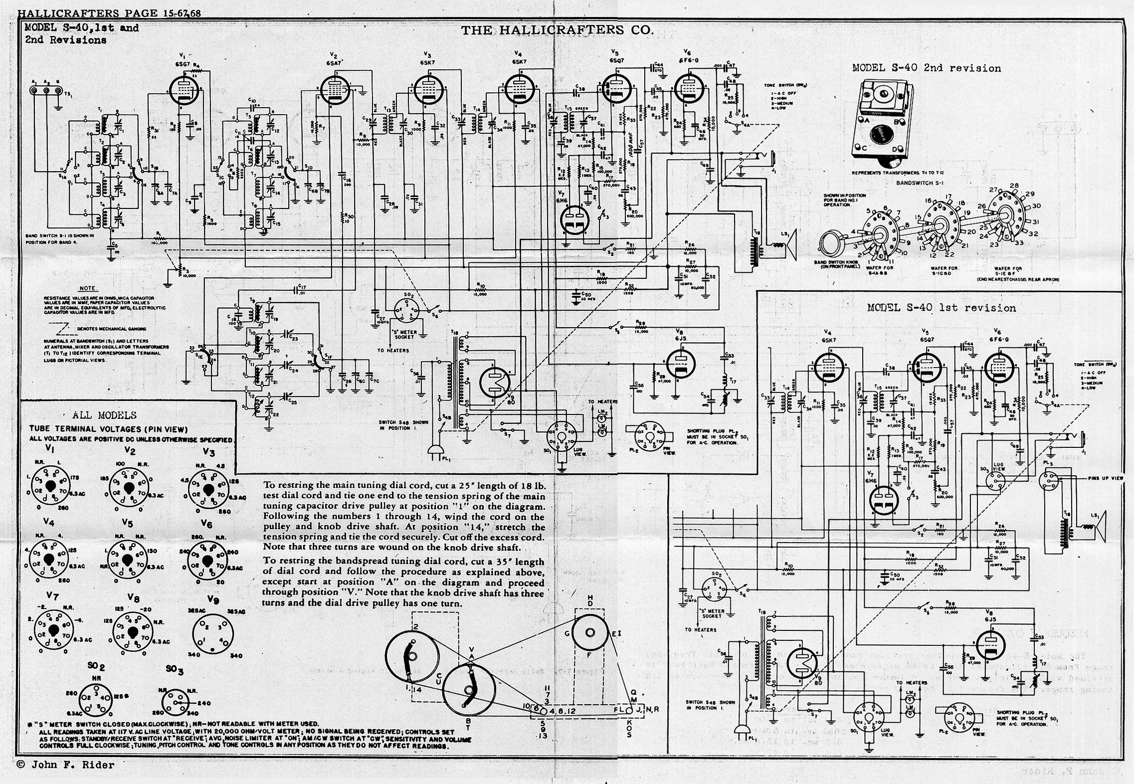 1200 Amp Wiring Diagram For Sony Antique Radio Forums View Topic 6sg7 Tube Sub