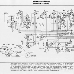 1991 Volvo 240 Radio Wiring Diagram Lincoln Town Car Parts 1946 1949 Hallicrafters Model S 40 General Coverage Short Wave Schematic