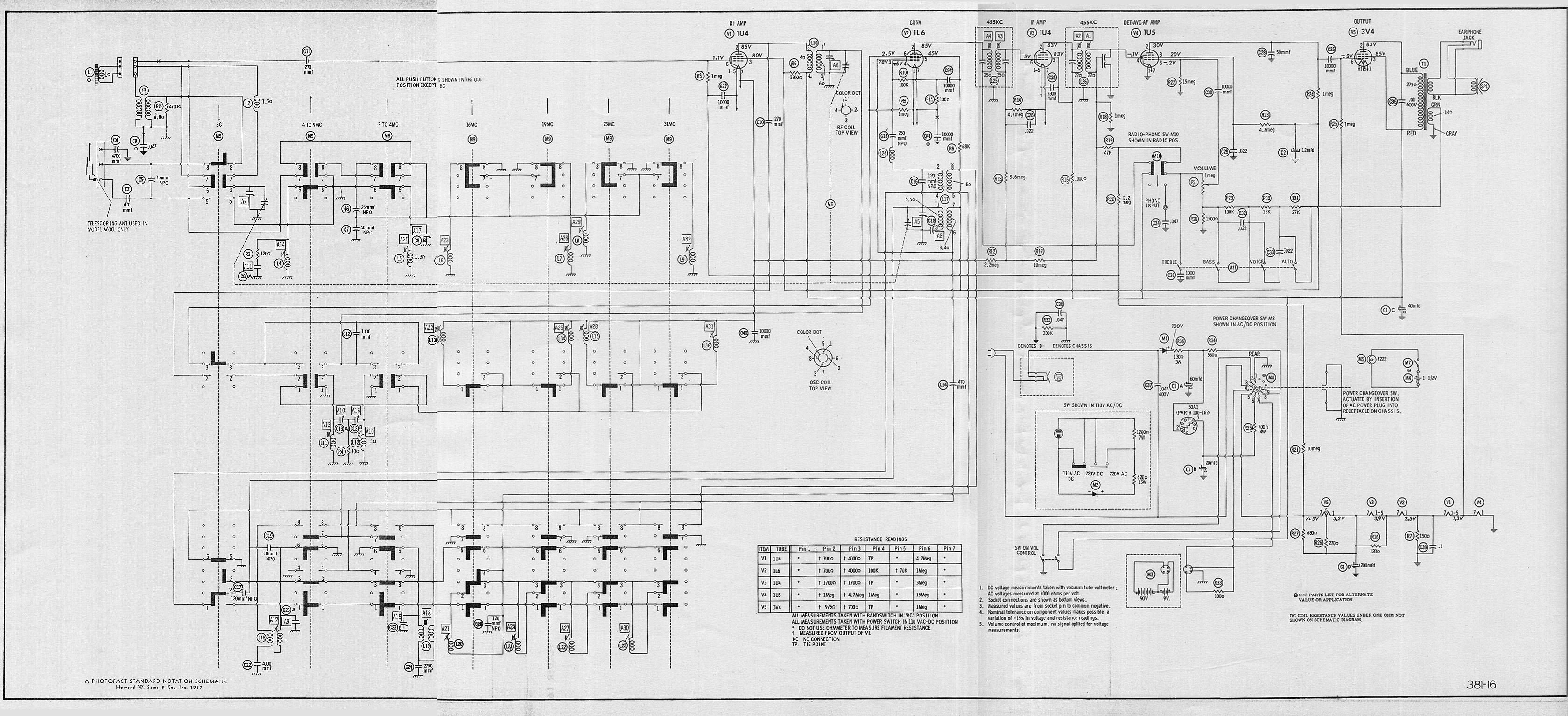 Antique Radio Schematics Free