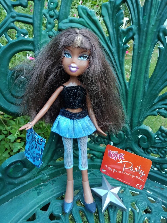 black bratz doll sasha birthday party