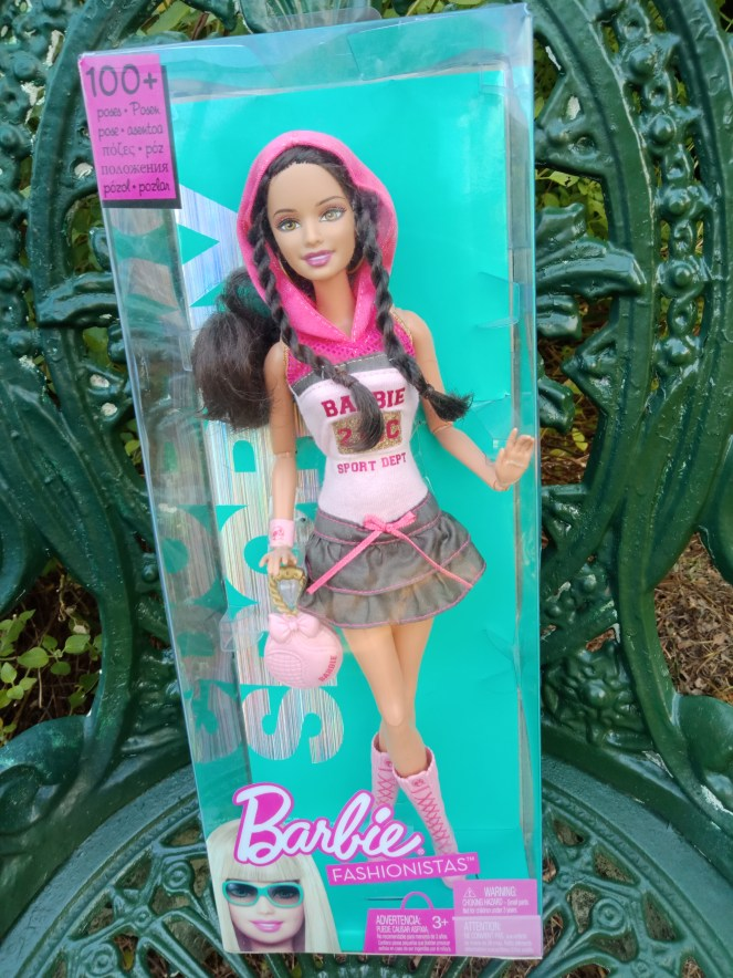 Barbie Fashion Sporty Doll in a short dress