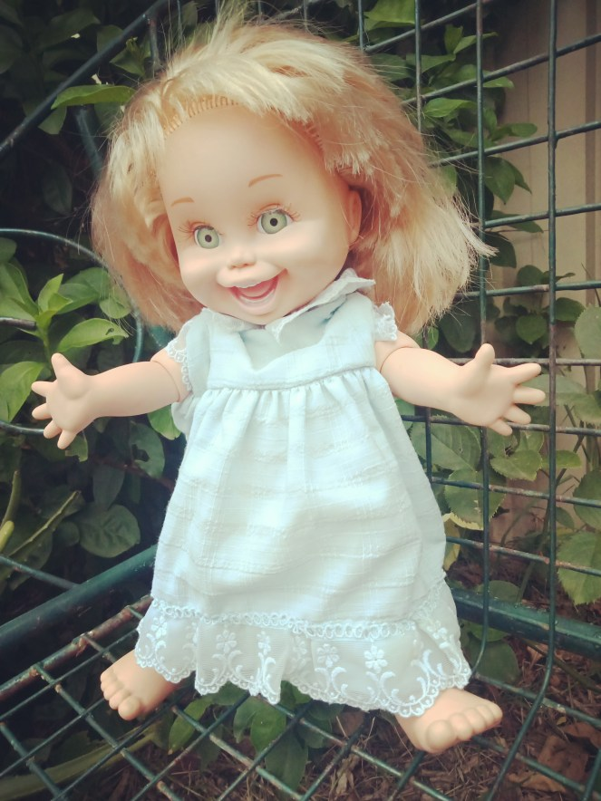 Baby Face Doll So Funny Natalie Blonde