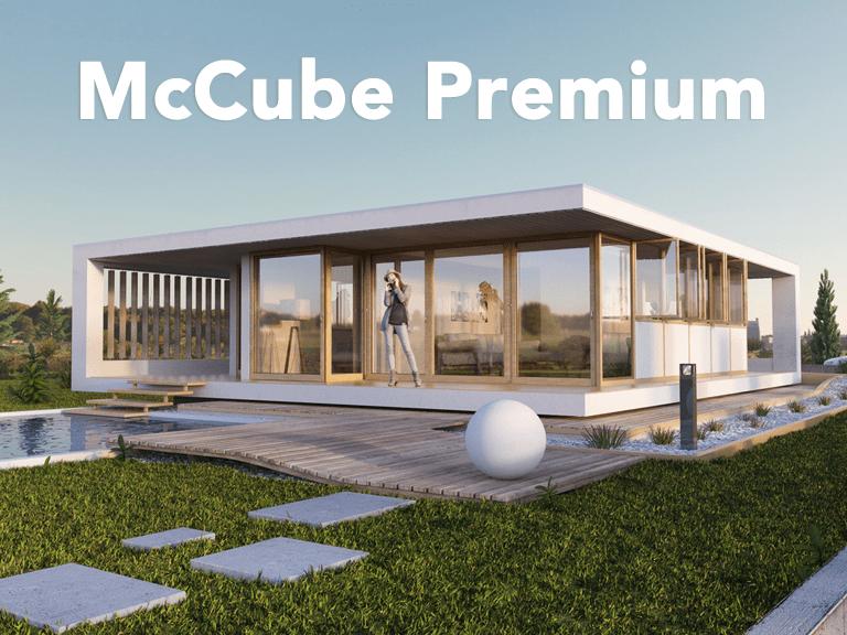 Premium mccube h user zum mitnehmen for Moderne cube hauser