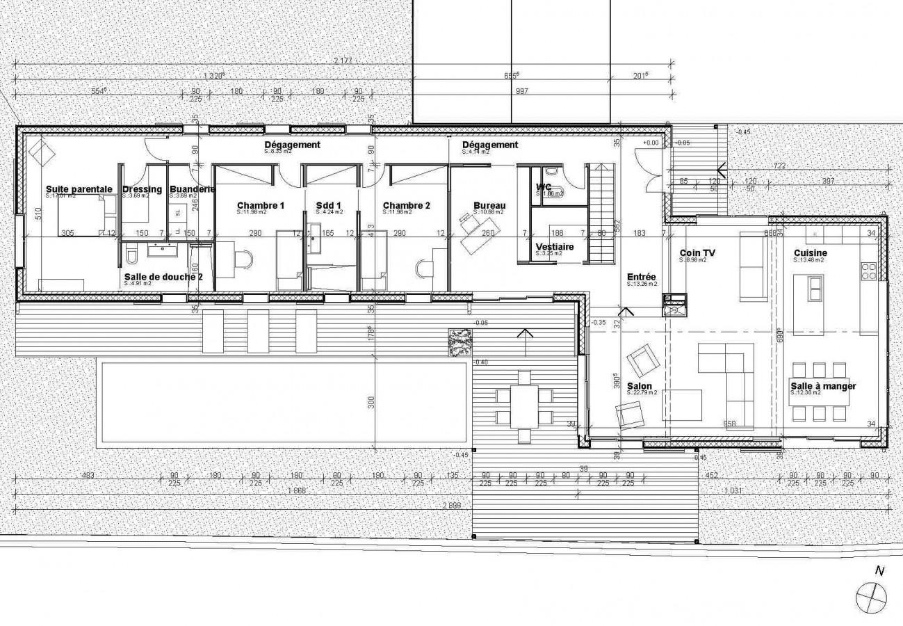 Plan Maison Moderne Darchitecte
