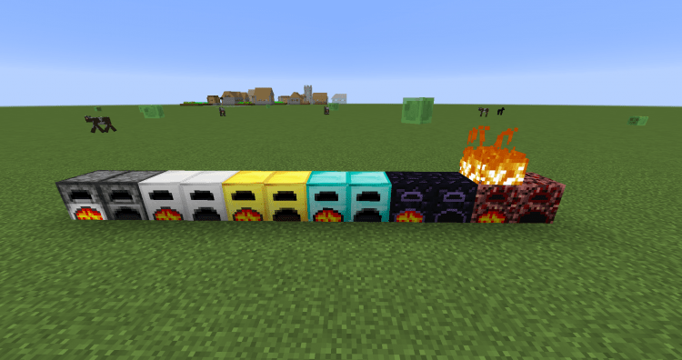 More Furnaces Mod 1.12.2/1.11.2 for Minecraft