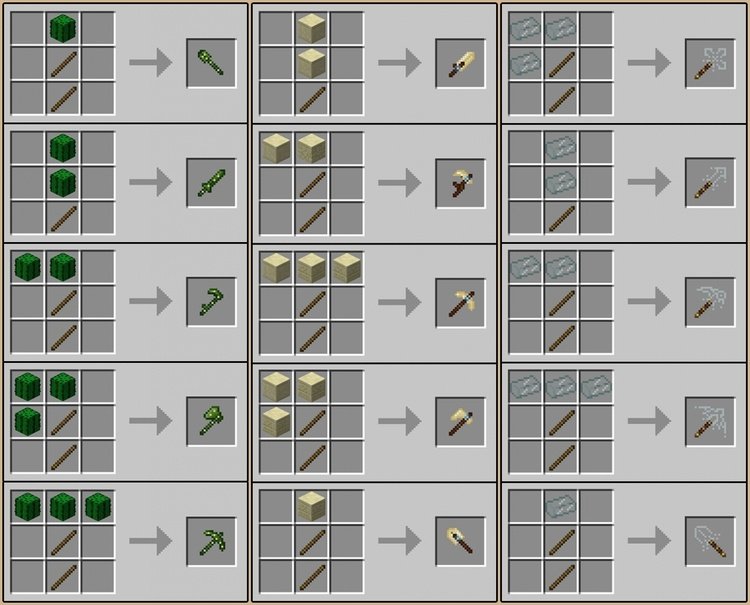 Desert Craft Mod 1 12 2 1 11 2 For Minecraft Mc Mod Net