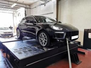 reprogrammation moteur Stage 1 Porsche Macan