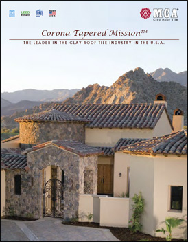 Download MCA Clay Roof Tile Corona Tapered Mission Catalog