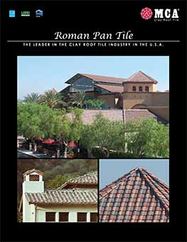 Download MCA Clay Roof Tile Roman Pan Catalog