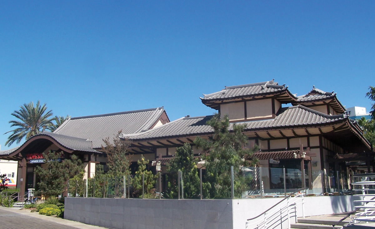 Oriental-Japanese Style, Long Beach, CA