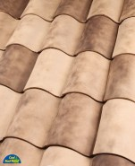 One Piece S  Mission tile in B319-R Ivory Smoke Blend.