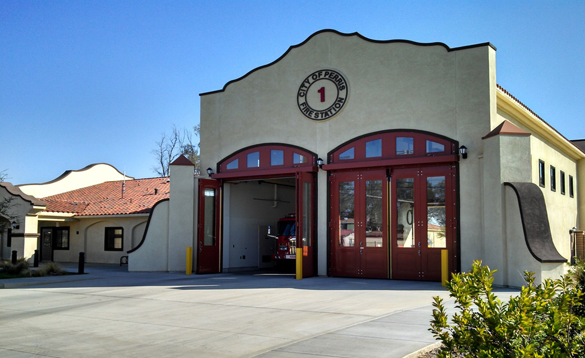 Fire Station, Perris, CA