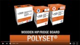 Polyset AH-160 Hip/Ridge Installation – Wooden Board and Metal Flange