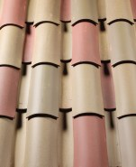 8 inch straight barrel mission roof tile, CB366 Alexander & Baldwin Blend