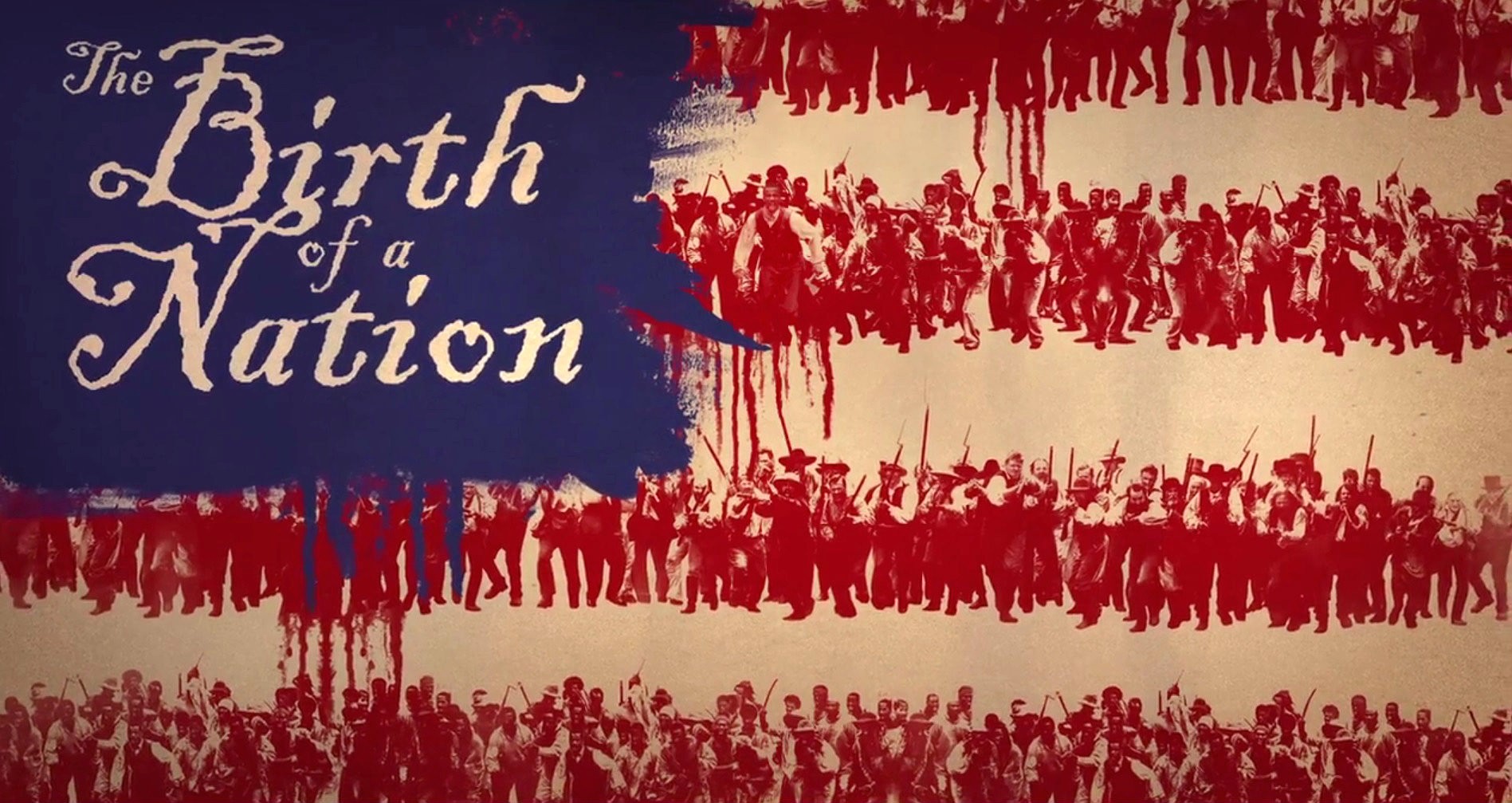 Birth of a Nation American Flag Poster