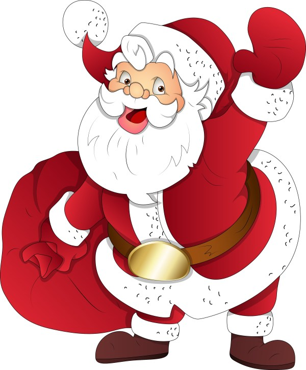 graphicstock santa - party