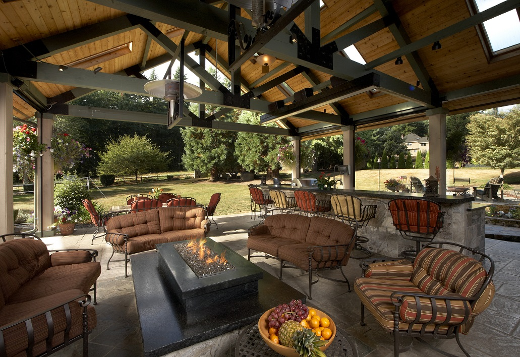 Covered Outdoor Living Area