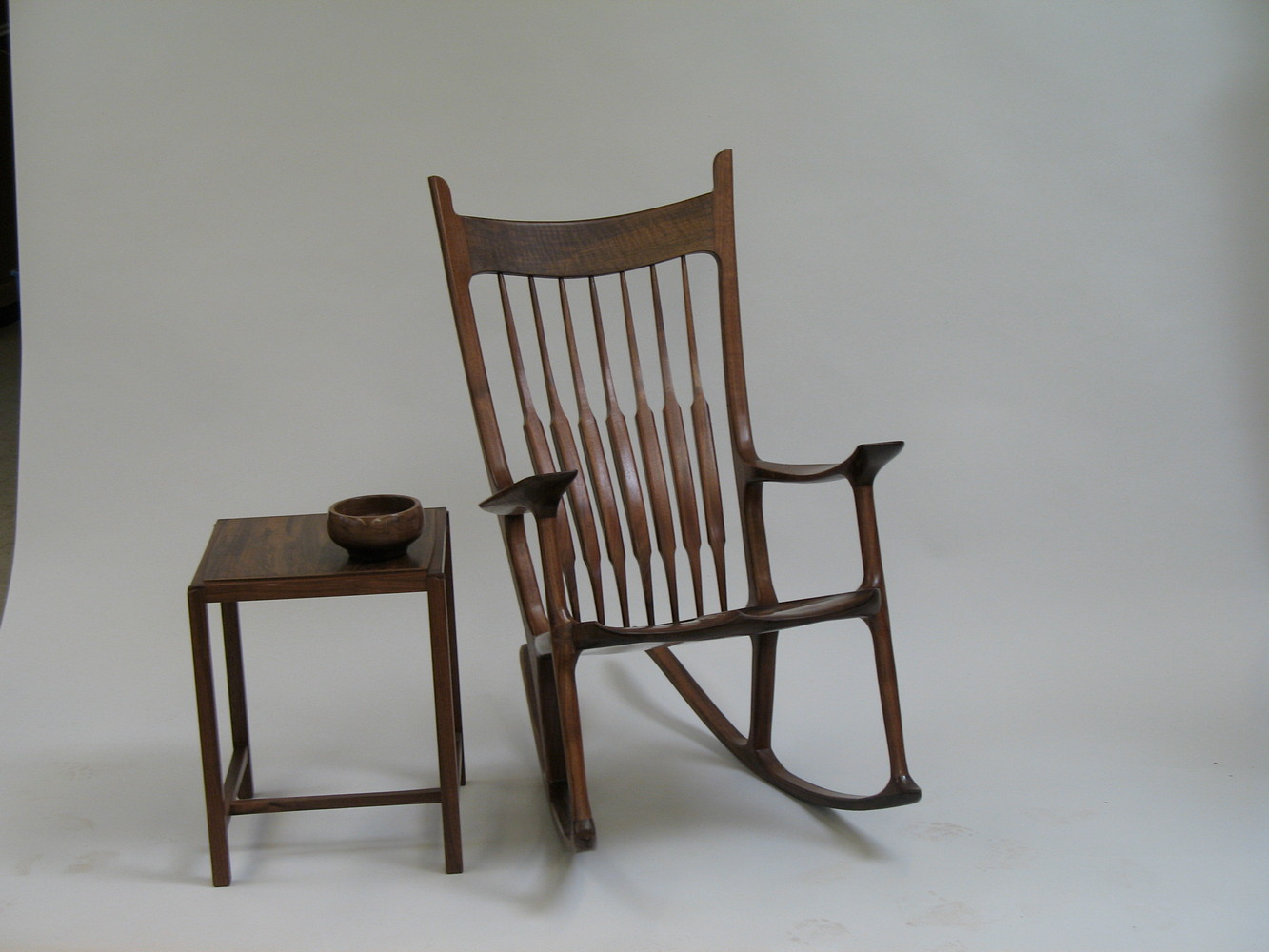 rocking chair fine woodworking black directors uk  mcanulty furniture carvings