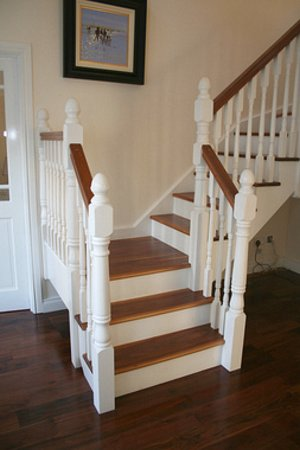 Northern Ireland manufacturer supplier wooden stairs