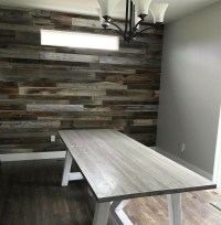 How to Install a Reclaimed Barn Wood Accent Wall ...