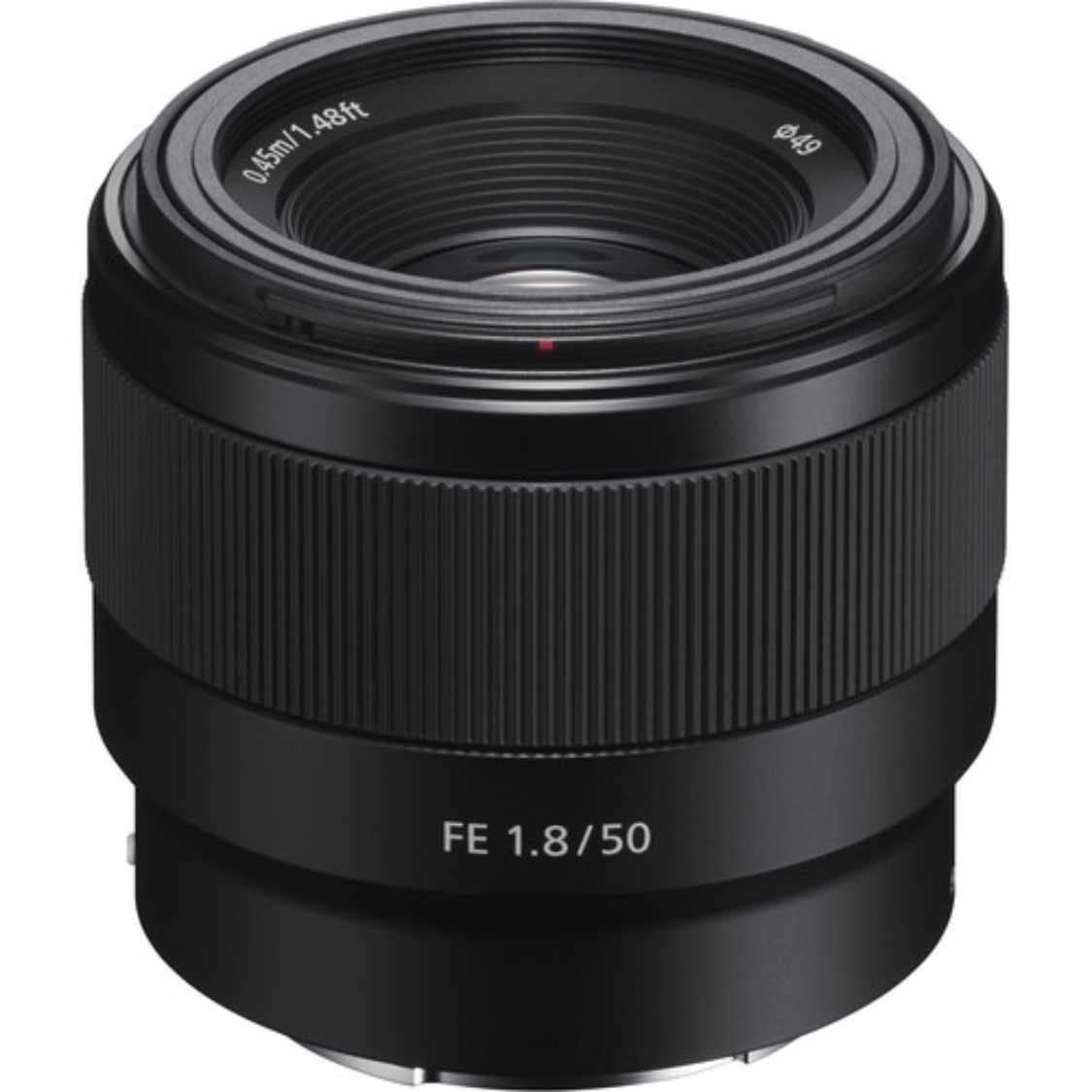 Sony FE 50mm F1.8 Lens   McBain Camera