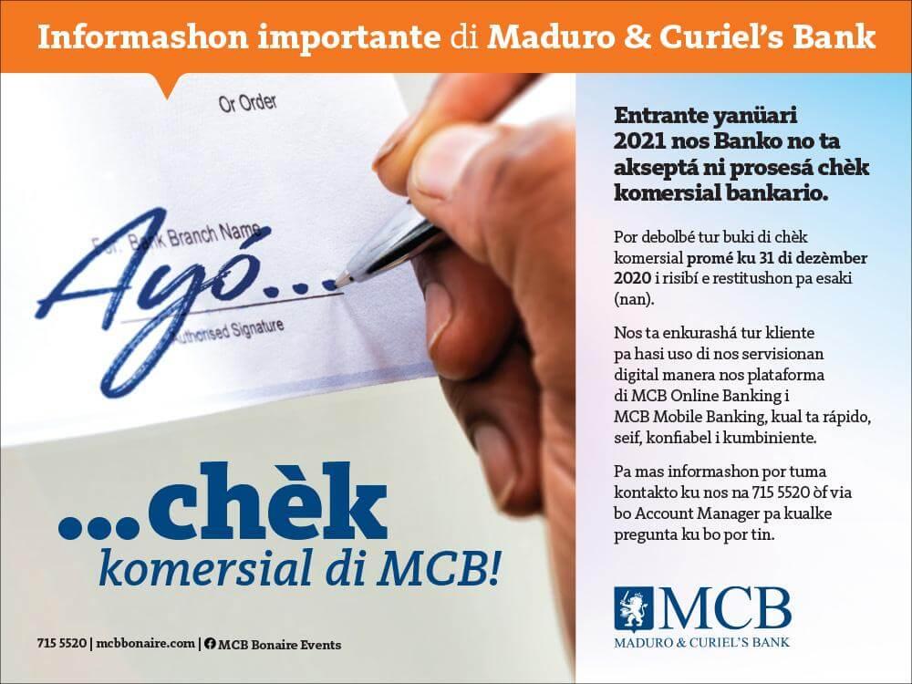 Ads Mcb Bonaire