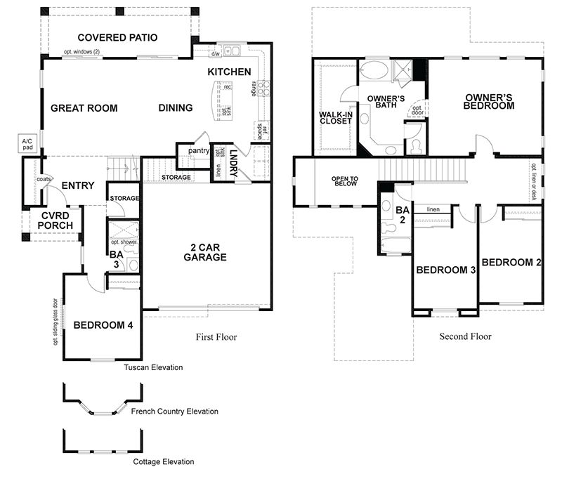 Jadestone a 4 bedroom 3 bath home in The Gallery. A New