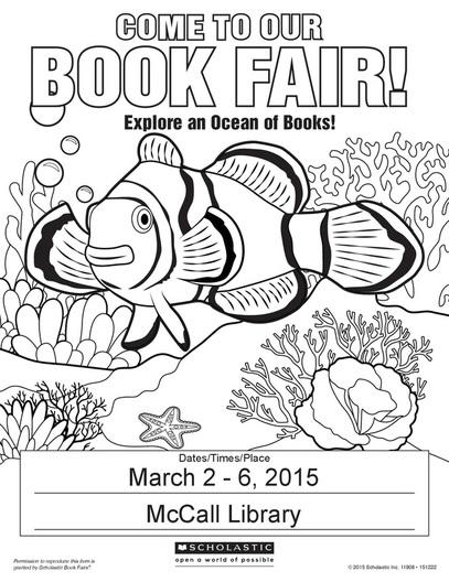2015 Spring Book Fair