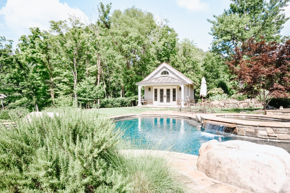 River Bend Pool House