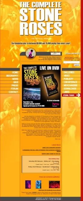 Website I designed for the band.